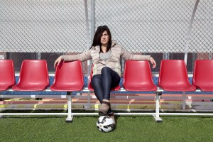 Marina Rinaldi, former first transsexual in the world to coach a football team.
