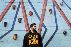 Gianluca Raro, Italian street artist.