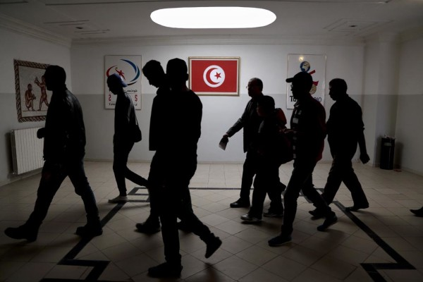 Tunisians presidential elections - cover