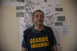 May 24, 2014 – Caivano, Italy: Giuseppe Nocerino, member of the Italian rangers from the provincial section of Naples.