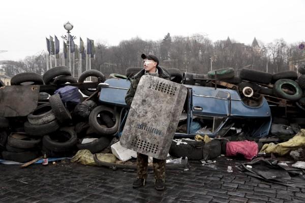 """Copertina galleria """"Uprising in Kiev"""""""
