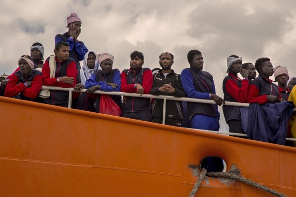 More than 1000 migrants arrive in Salerno