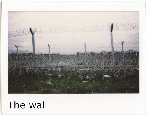 Copertina galleria - The wall