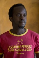 TRICASE, ITALY – NOVEMBER 12: Cherif, 32 years old from Guinea, is portrayed inside Masseria Le Palme, a CAS (Extraordinary Reception Center) in Puglia, Southern Italy on November 12, 2016. CAS are imagined in order to compensate the lack of places inside ordinary reception center in case of substantial arrivals of migrants.