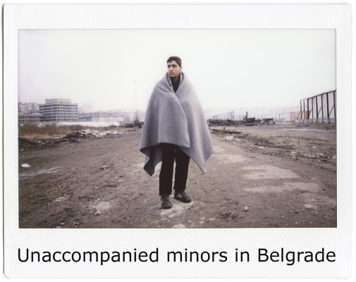 Copertin galleria - Unaccompanied minors in Belgrade03