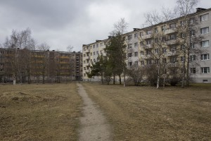 Palaces of Kopli district in Tallinn, Estonia on March 18, 2017. Kopli is considered one of the neighborhoods with the higest number of fentanyl addicts in the city.