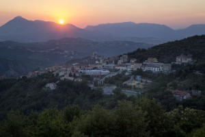 A general view of Petruro Irpino, southern Italy on June 14, 2017. Petruro Irpino is an Italian small village with 367 inhabitants in the province of Avellino in Campania, which is claiming to be an efficient model of integration and where people of different religions and coming from different parts in the world peaceful live together.