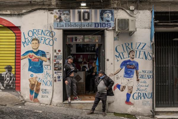 Naples reacts to Maradona death